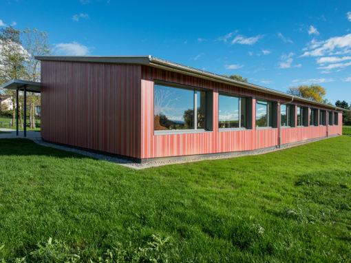 Minergie-Doppelkindergarten & Turnhalle, Lohn