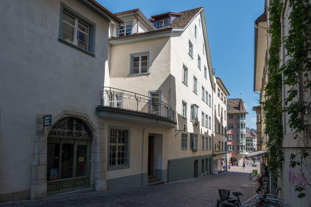 Modernisierung Tanne 7 Altstadt Schaffhausen 1