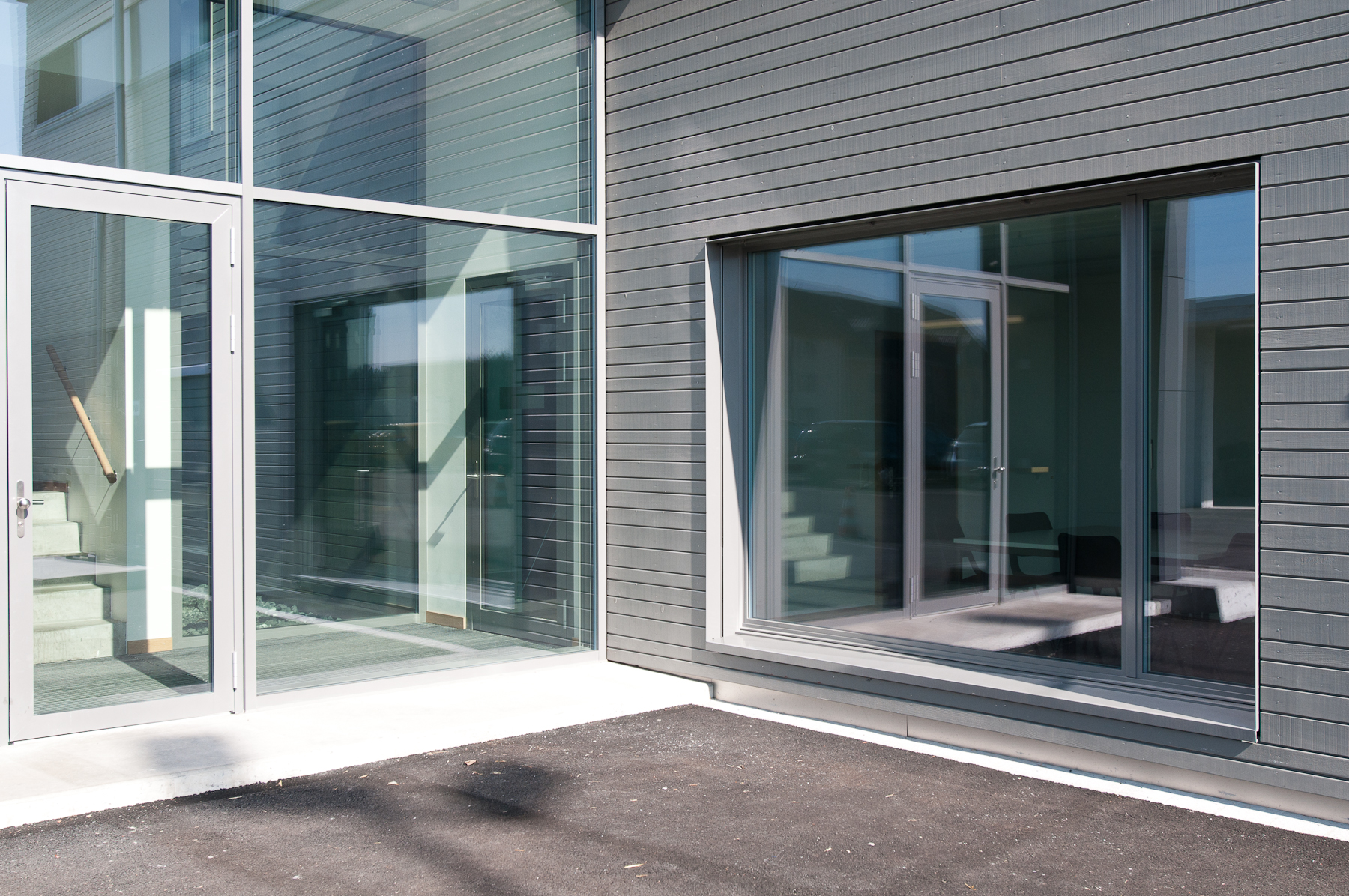 Minergie P Eco Zollgebäude Ramsen, Holzbau (5)