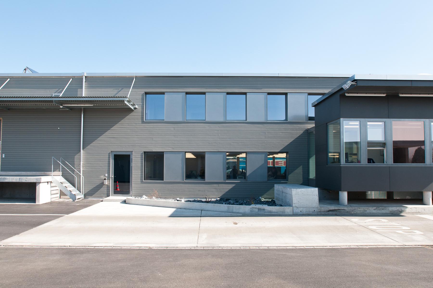 Minergie P Eco Zollgebäude Ramsen, Holzbau (8)