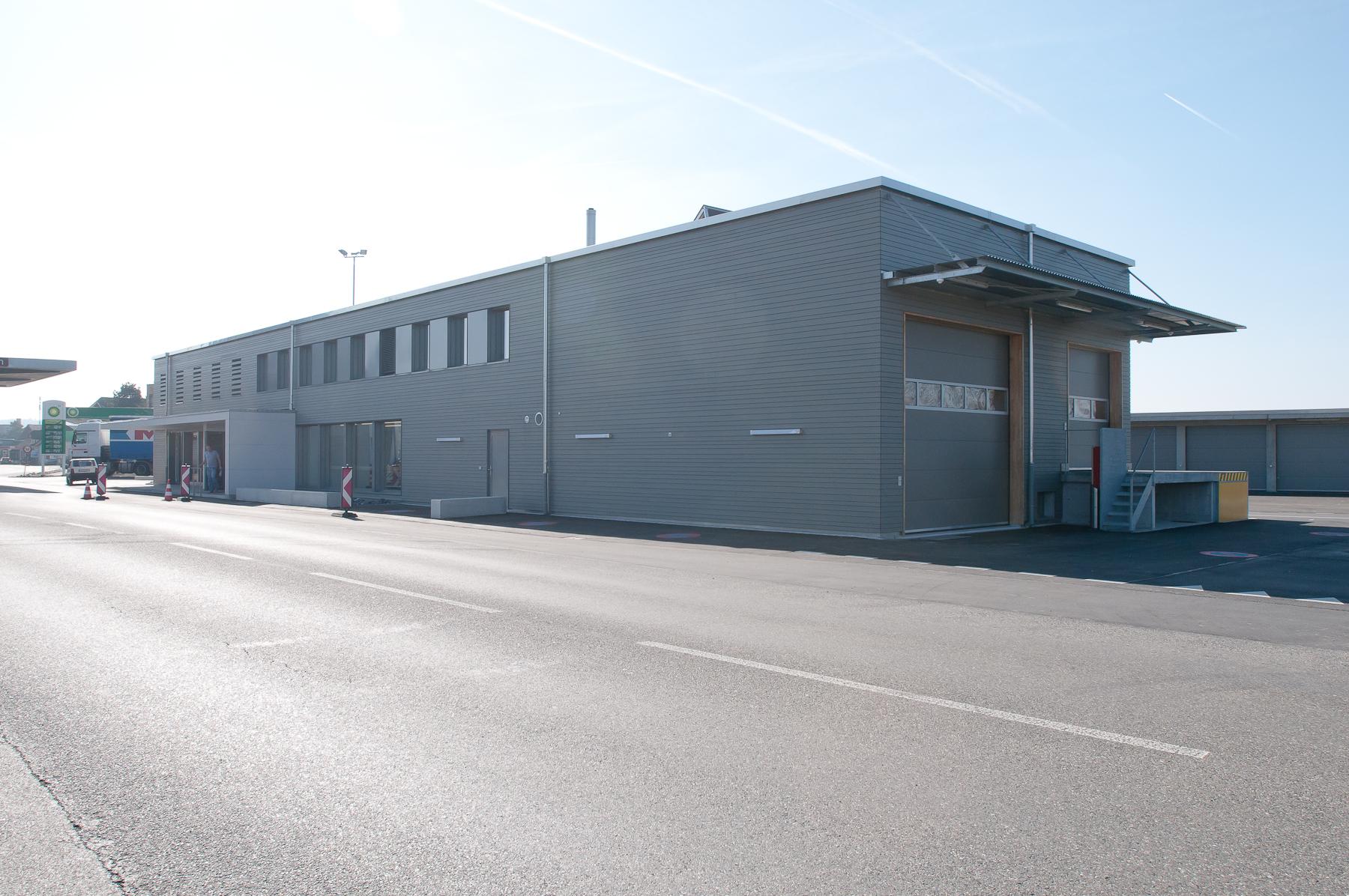 Minergie P Eco Zollgebäude Ramsen, Holzbau