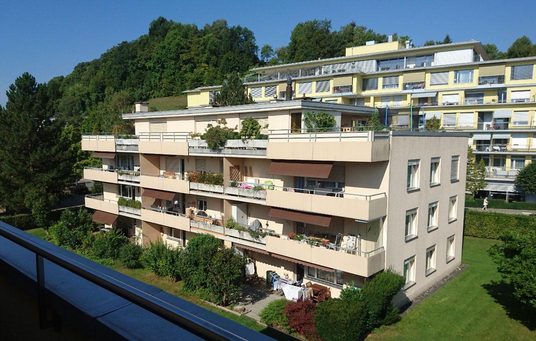 Fassadensanierung Trüllenbuck, Schaffhausen (2)