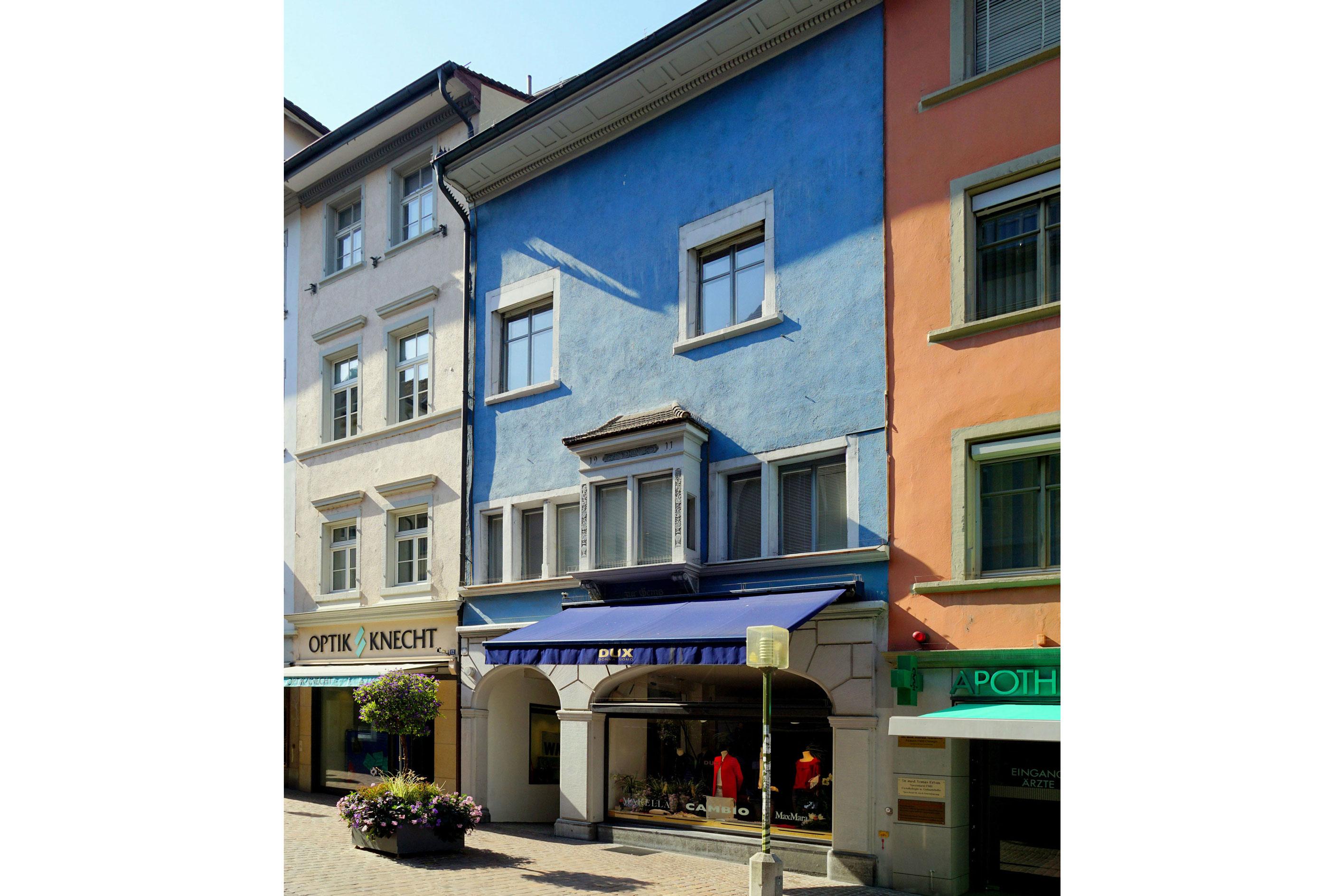 Sanirung Oberstadt 8&10 Schaffhausen
