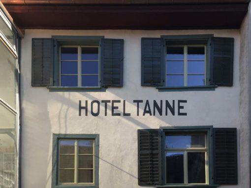Modernisierung Hotel Tanne
