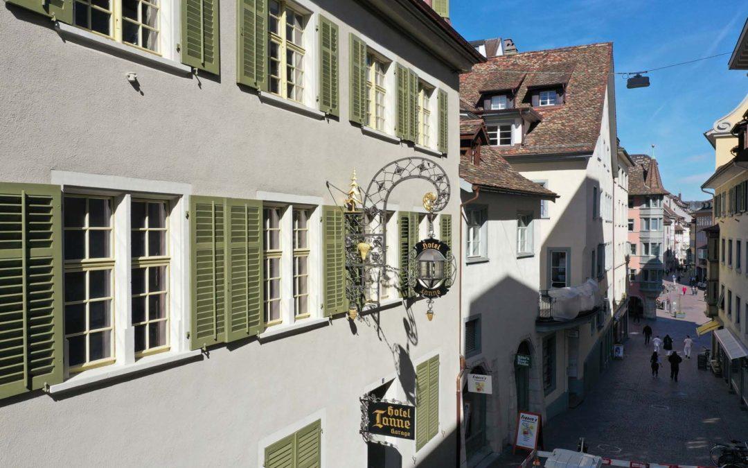 Im historischen Hotel Tanne ist neues Leben eingekehrt