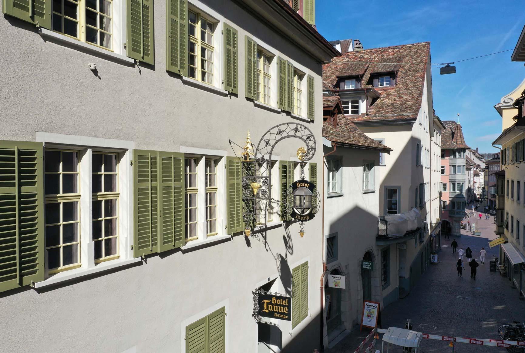 Im Historischen Hotel Tanne Ist Neues Leben Eingekehrt 1
