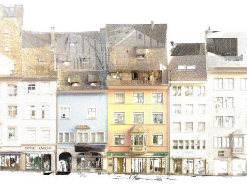 Sanierung Oberstadt 8 & 10, Schaffhausen
