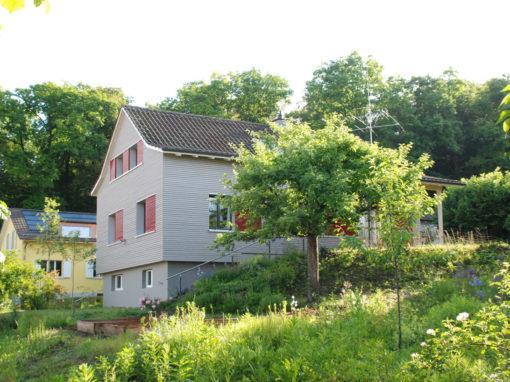 Minergie Sanierung EFH Corti, Schaffhausen
